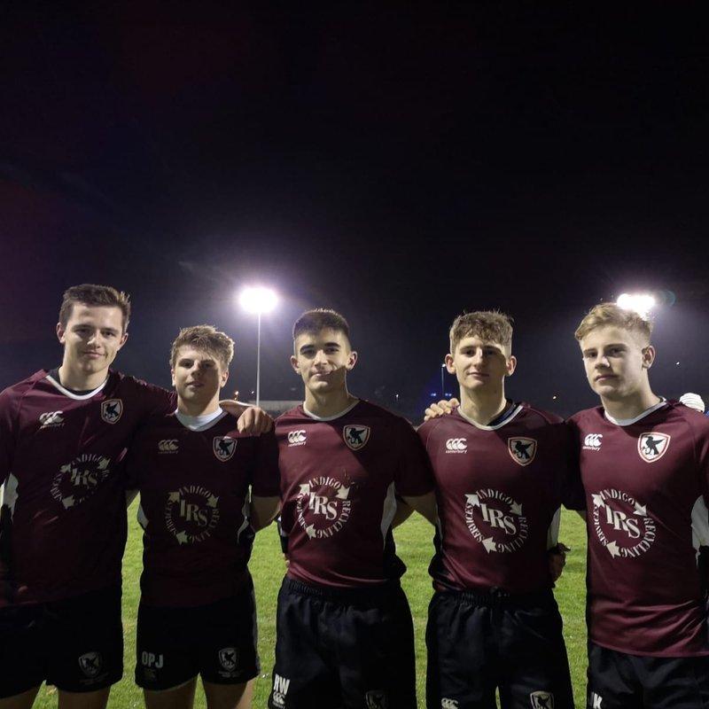Five Peacocks play for Eastern Counties U18 against Kent