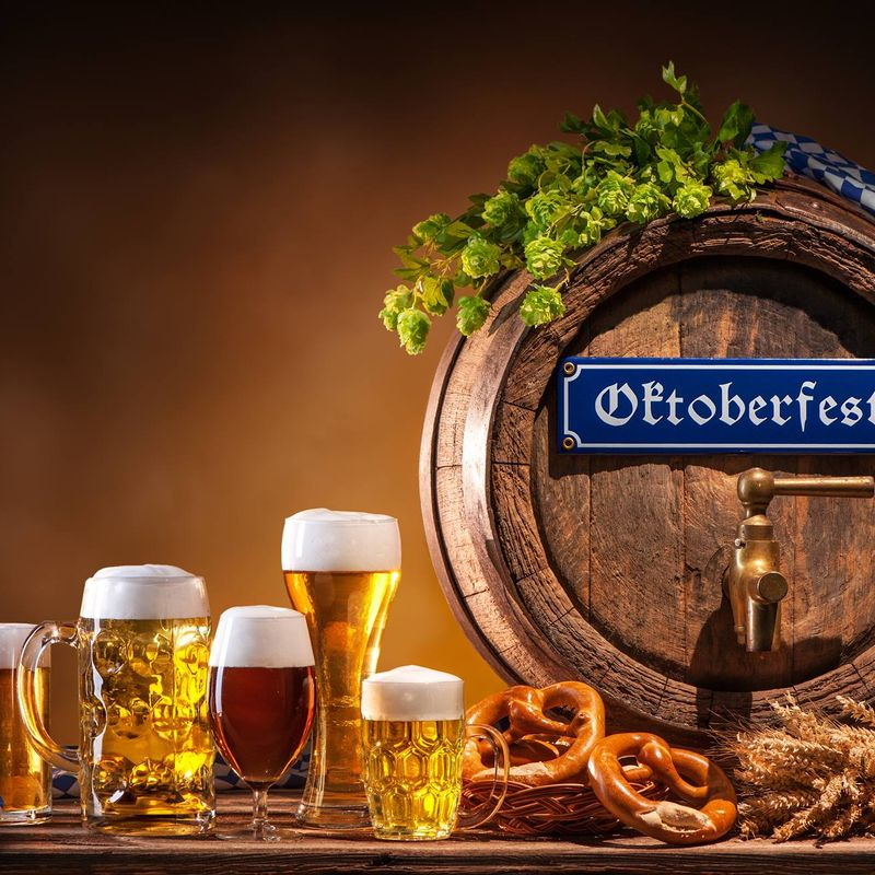 19th & 20th Oct - Oktoberfest - Steins, Lager and Oompah band!