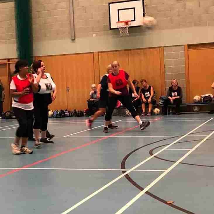 Walking netball begins
