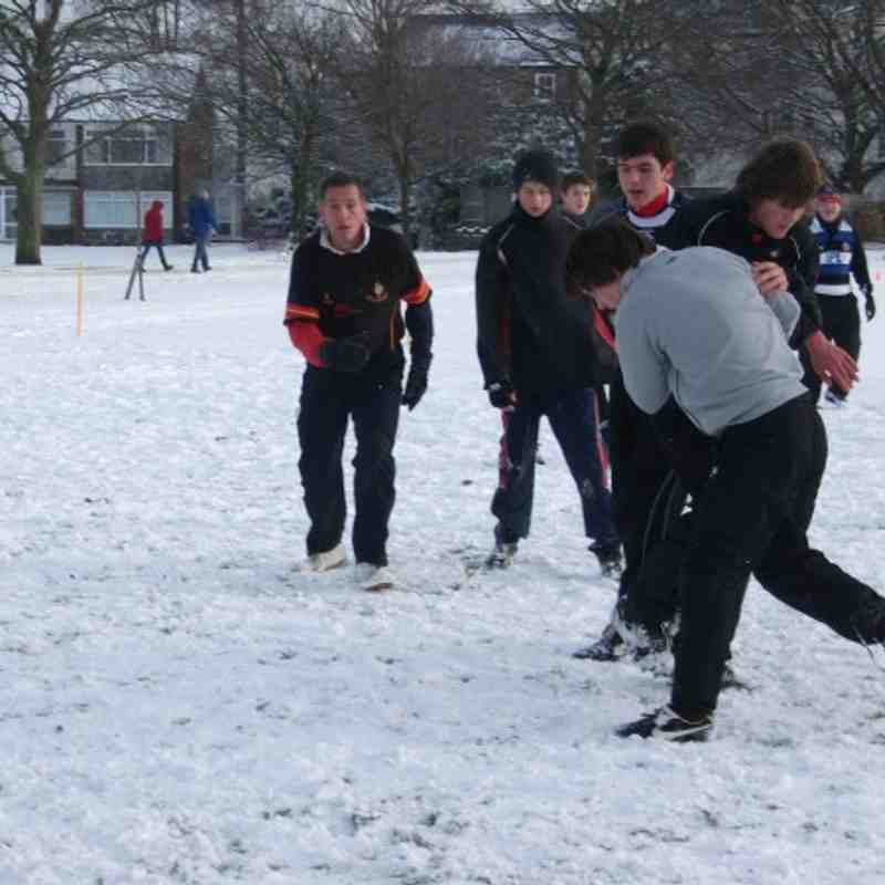 U14's arctic training
