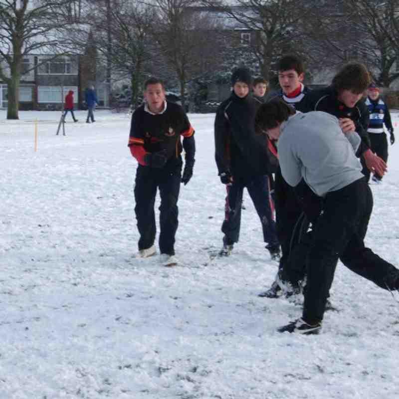 U14's arctic training