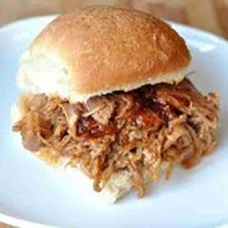 Pulled Pork Sandwiches on sale.