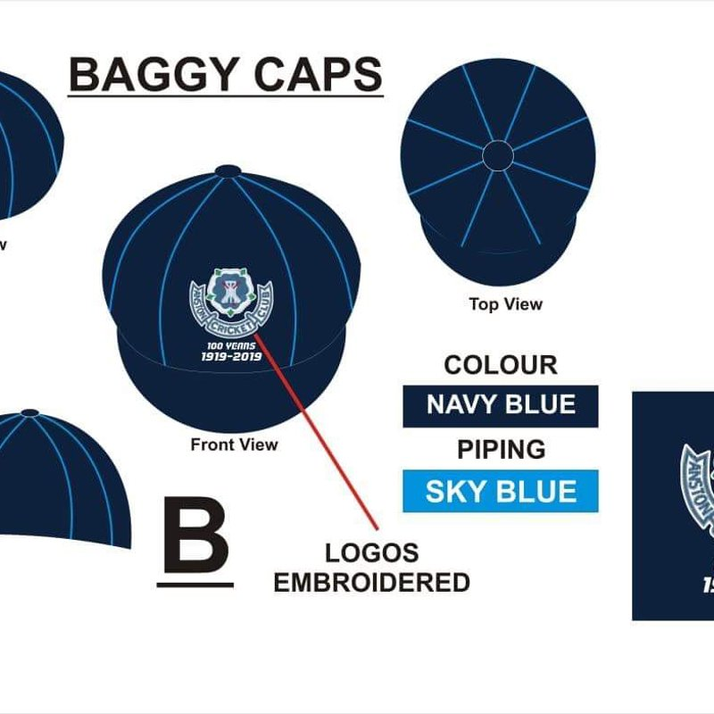 ACC Centenary Years Baggy Caps