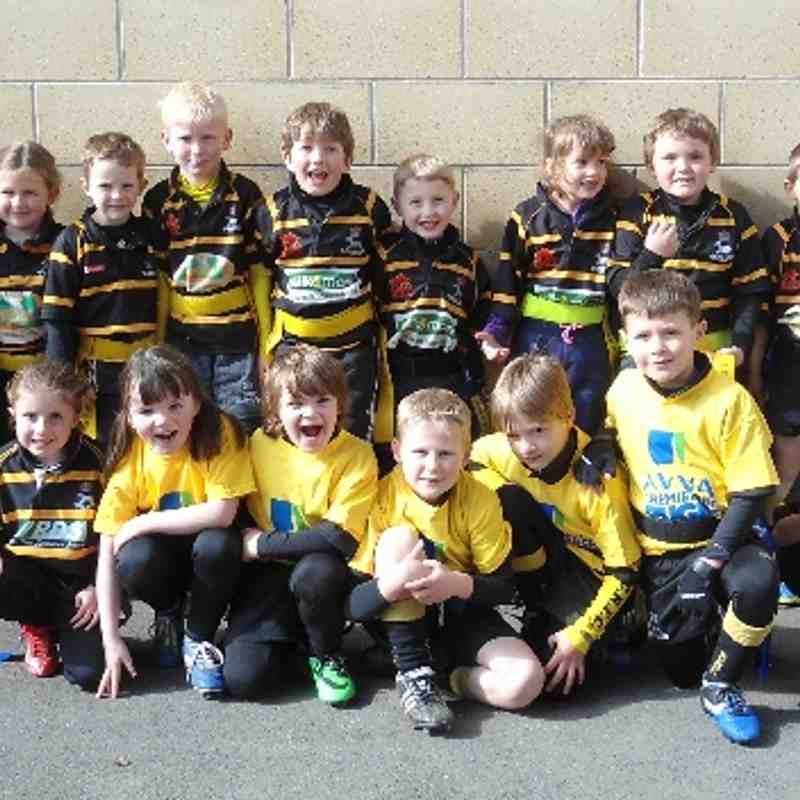 KCRFC U7 v Droitwich RFC U7 at Worcester Warriors 12th April 2014