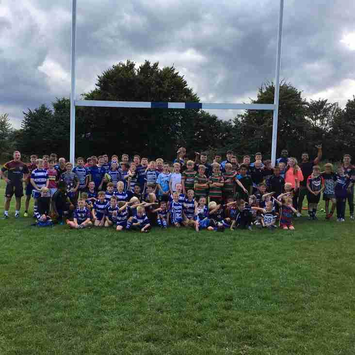 Kids Rugby Camp a Great Success ............................................