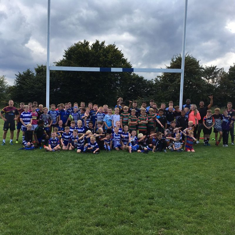 Kids Rugby Camp a Great Success ............................................