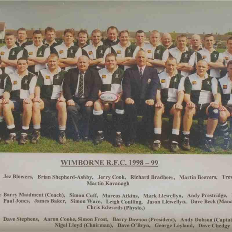 Wimborne 1st XV 1998/99