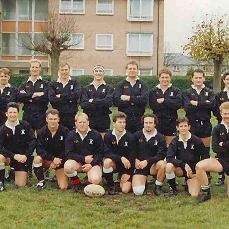 Wimborne 1st XV 1992/93