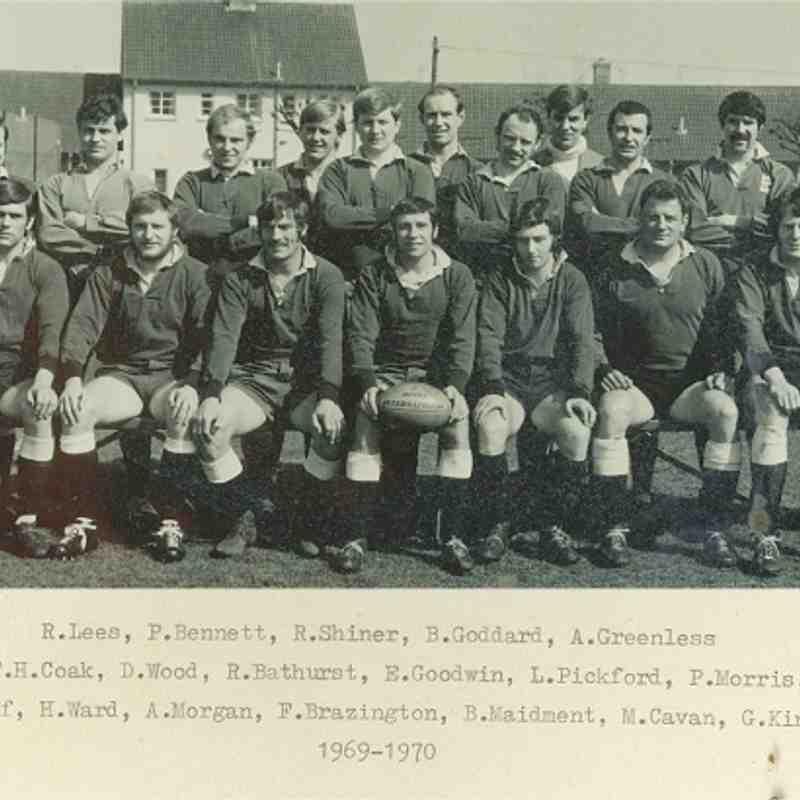 Wimborne 1st XV 1969/70