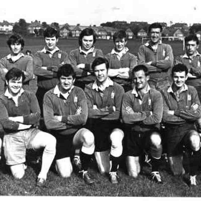 Wimborne 1st XV 1970/71