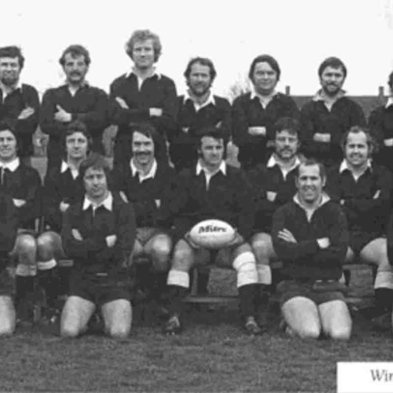 Wimborne 1st XV 1976/77