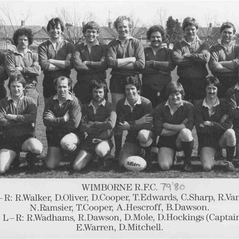 Wimborne 1st XV 1979/80