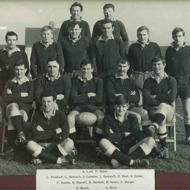 Wimborne 1st XV 1966/67