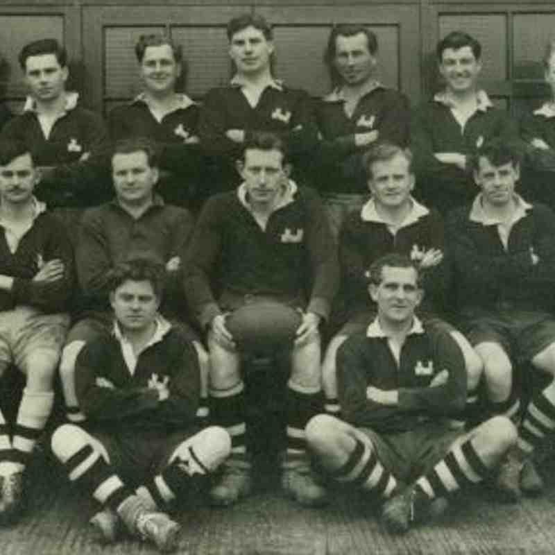 Wimborne 1st XV 1951/52
