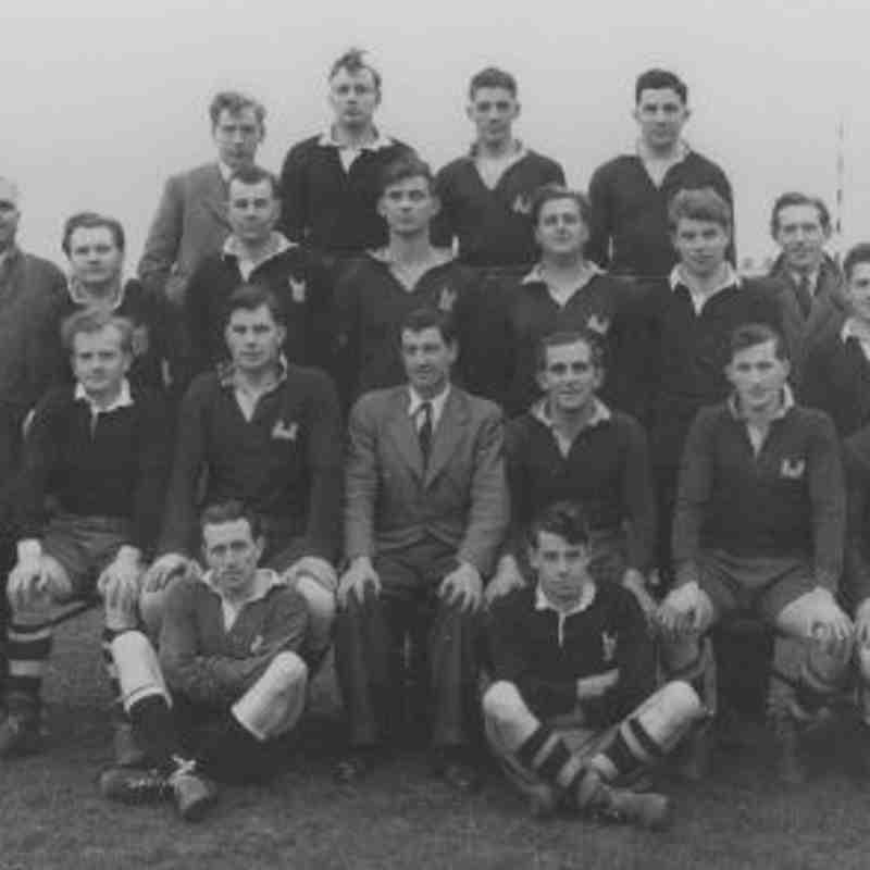 Wimborne 1st XV 1952/53