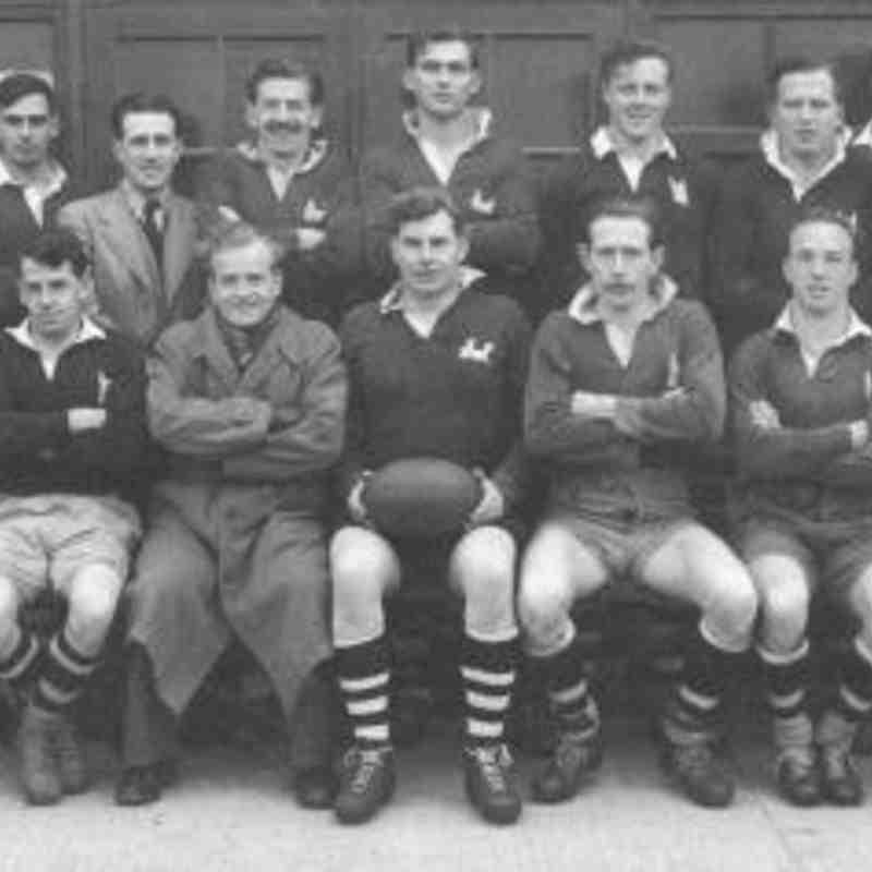 Wimborne 1st XV 1953/54