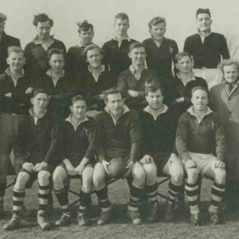 Wimborne 1st XV 1954/55
