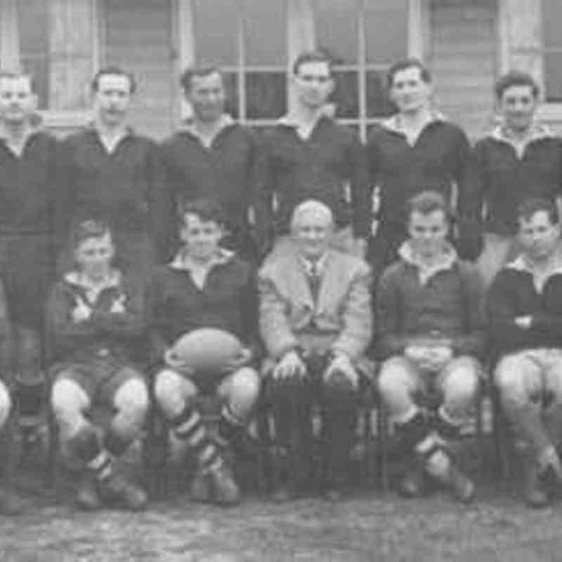 Wimborne 1st XV 1956/57