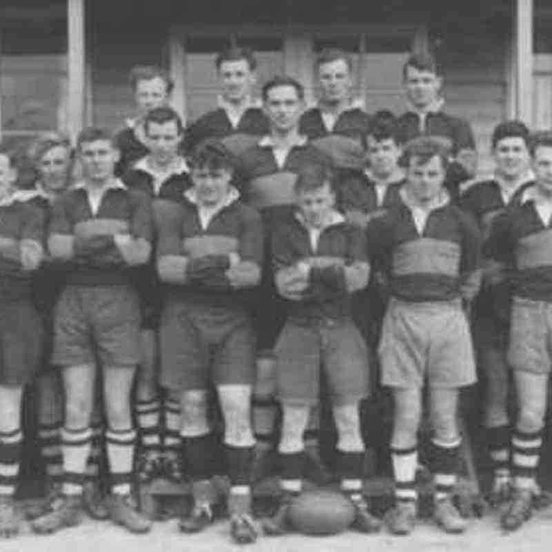 Wimborne 1st XV 1957/58