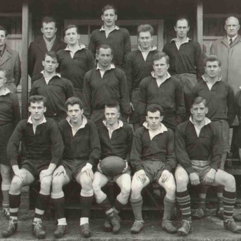 Wimborne 1st XV 1958/59