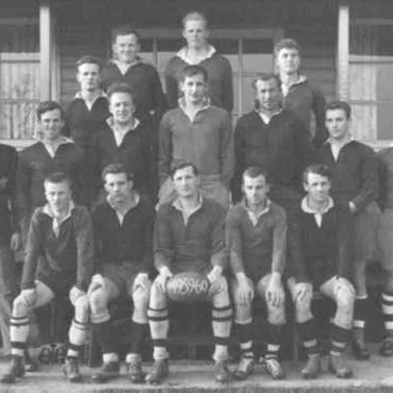 Wimborne 1st XV 1959/60