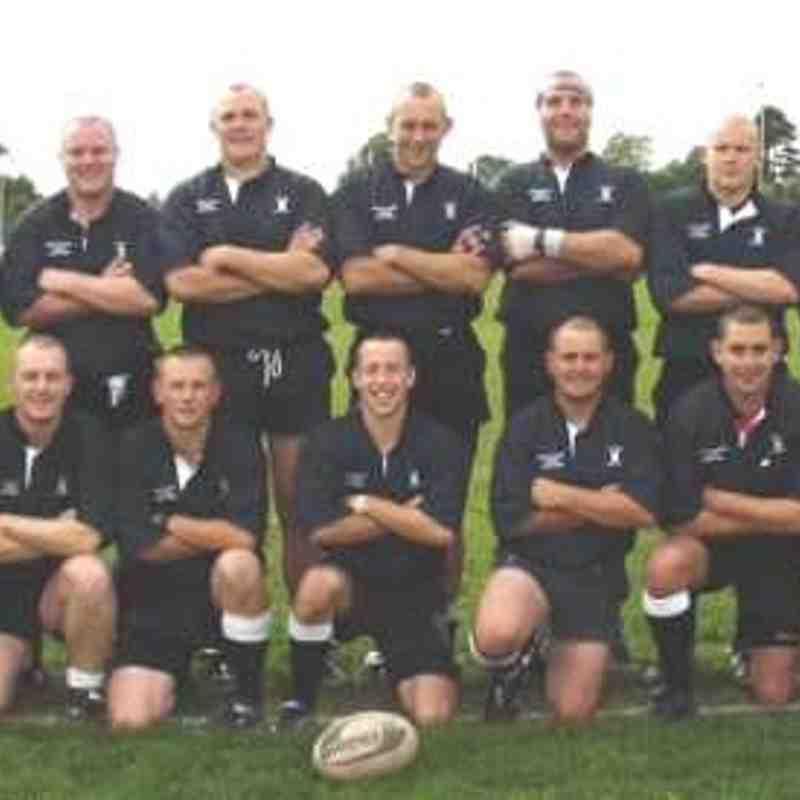 Wimborne 1st XV 2001/02