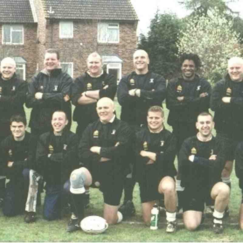 Wimborne 1st XV 2002/03
