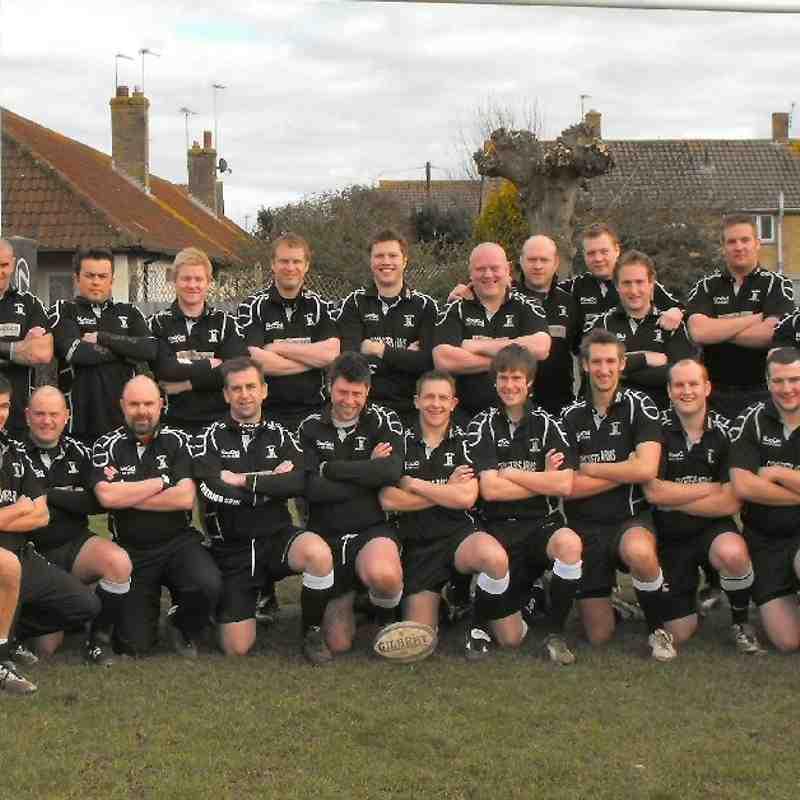 Wimborne 1st XV 2008/09