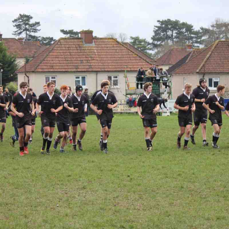 Colts U17s vs Devizes Cup Final