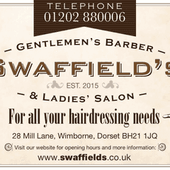 Swaffield's Barbers support Wimborne Rugby club