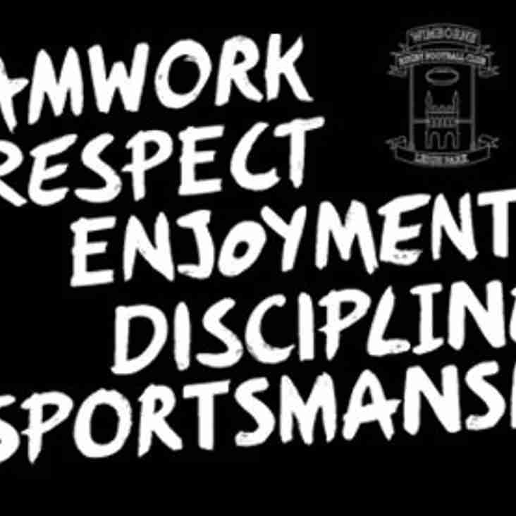 Core Values of the game