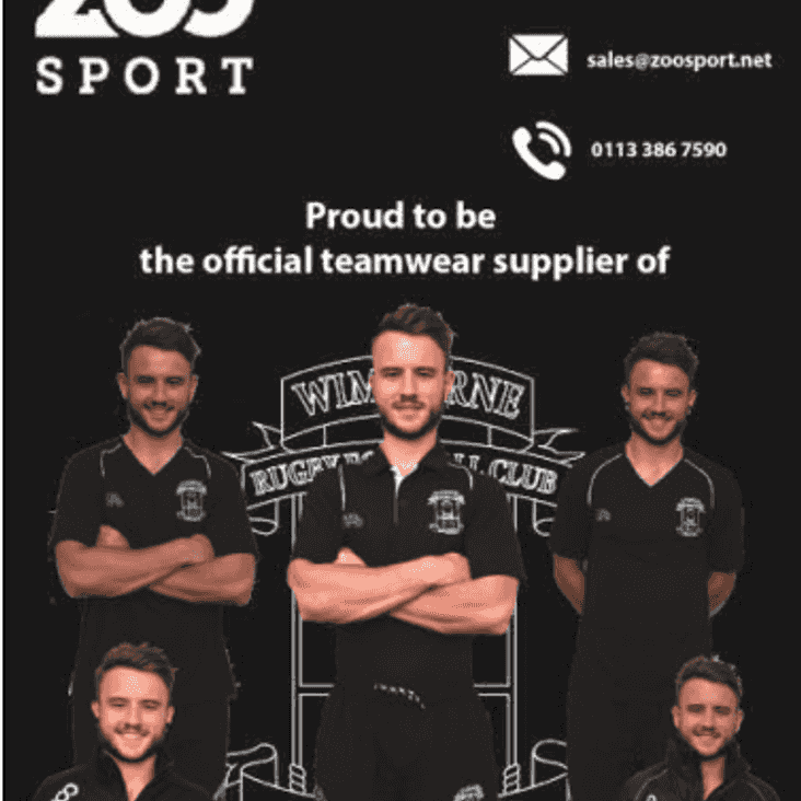 Zoo Sport - Online Shop for Wimborne RFC kit
