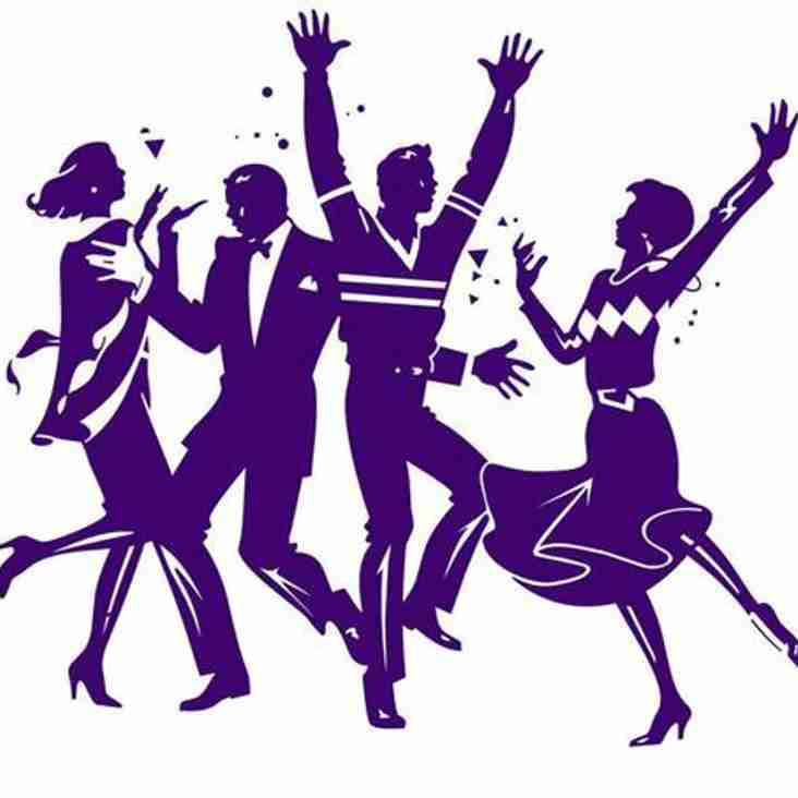 Club Dinner & Dance scheduled for Friday 18th May