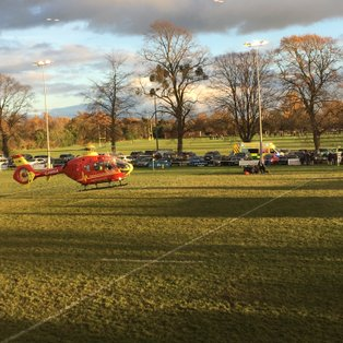 Stratford player suffered serious injury resulting in match abandonment