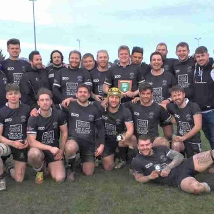 Wimborne are Dorset & Wilts 2nd Team Cup Winners 2018