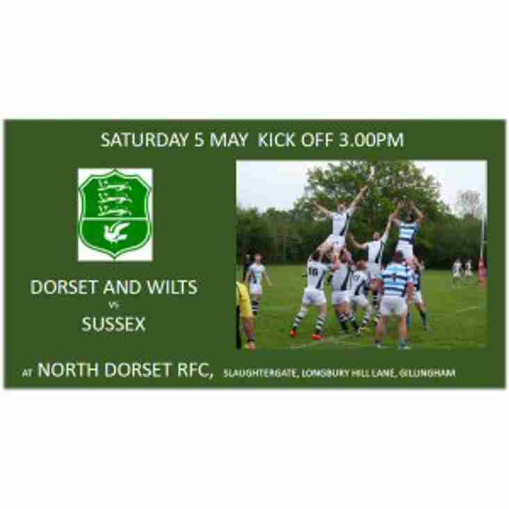 Saturday 5th May: Some of Wimborne's players will be representing Dorset & Wilts vs Sussex