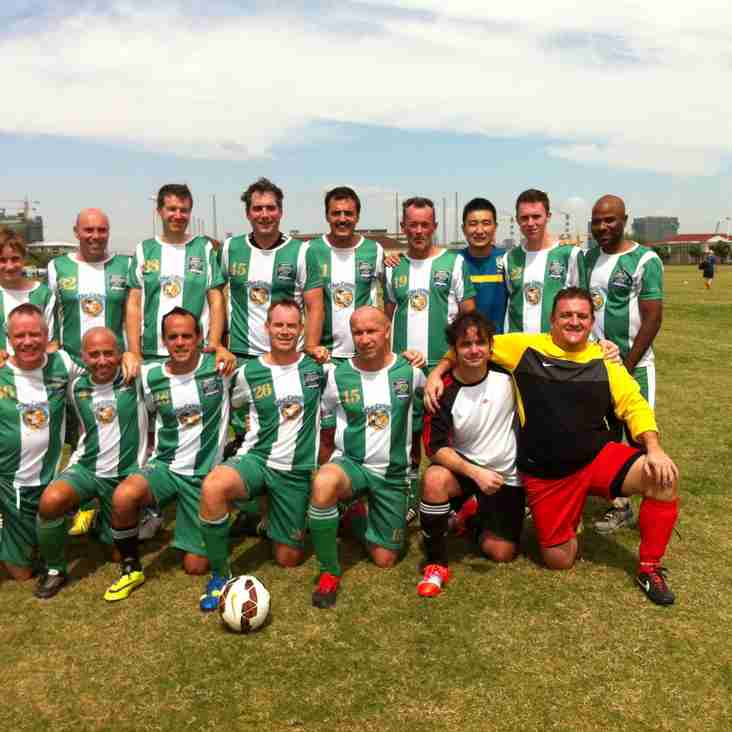 SEFC sweep aside Scotland 6-1 in the Vets League