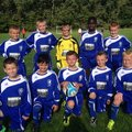 Under 12's lose to Hucknall Warrirors FC 2 - 1