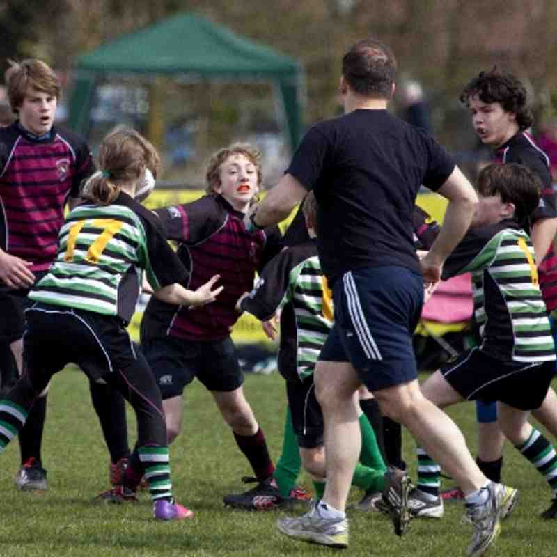 U12s - ARFC Mini Section Festival 21 April 2013