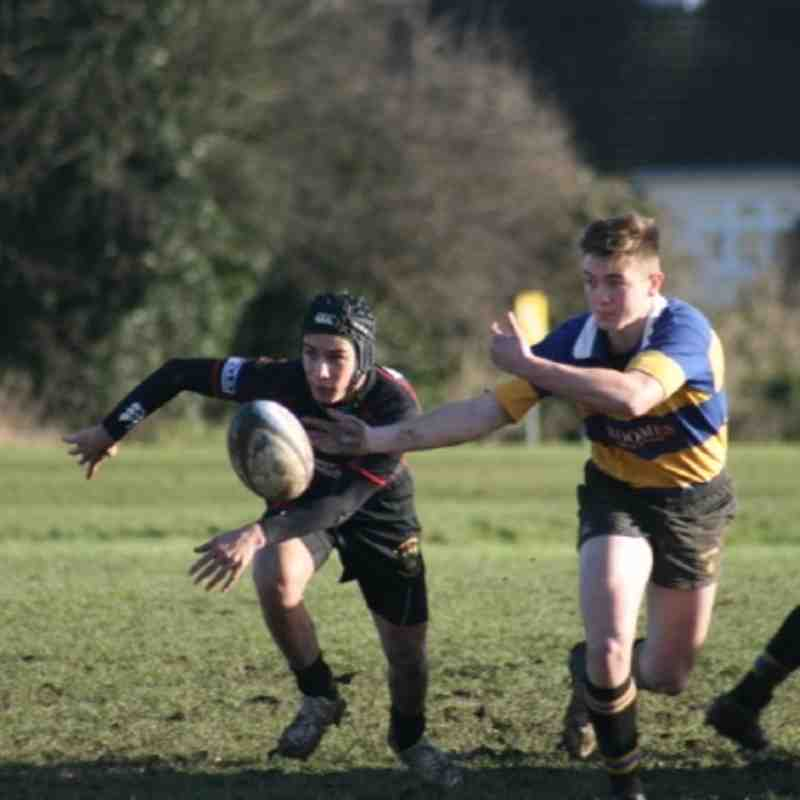Upminster vs Rochford Hundred U17