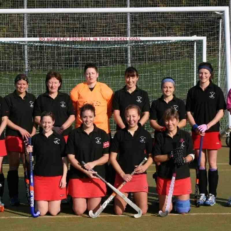 Ladies 1st v Stevenage (6th Nov 2010)