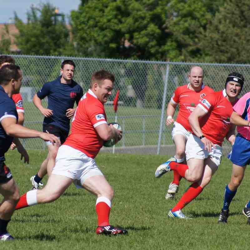 Men's AC Druids Vs Clan