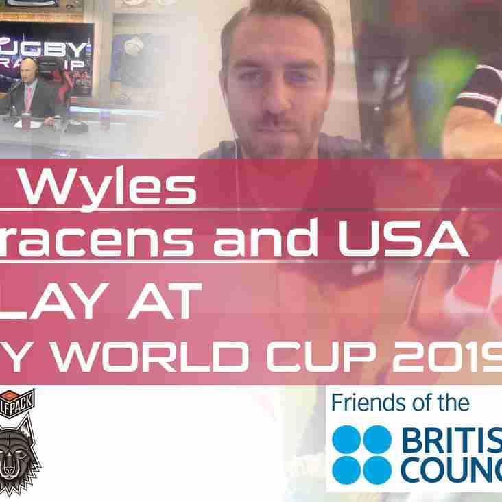On Camera: USA Rugby & Saracens Star Chris Wyles, Washington Irish Whitney Stowell