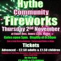 Hythe & Dibden Community Fireworks
