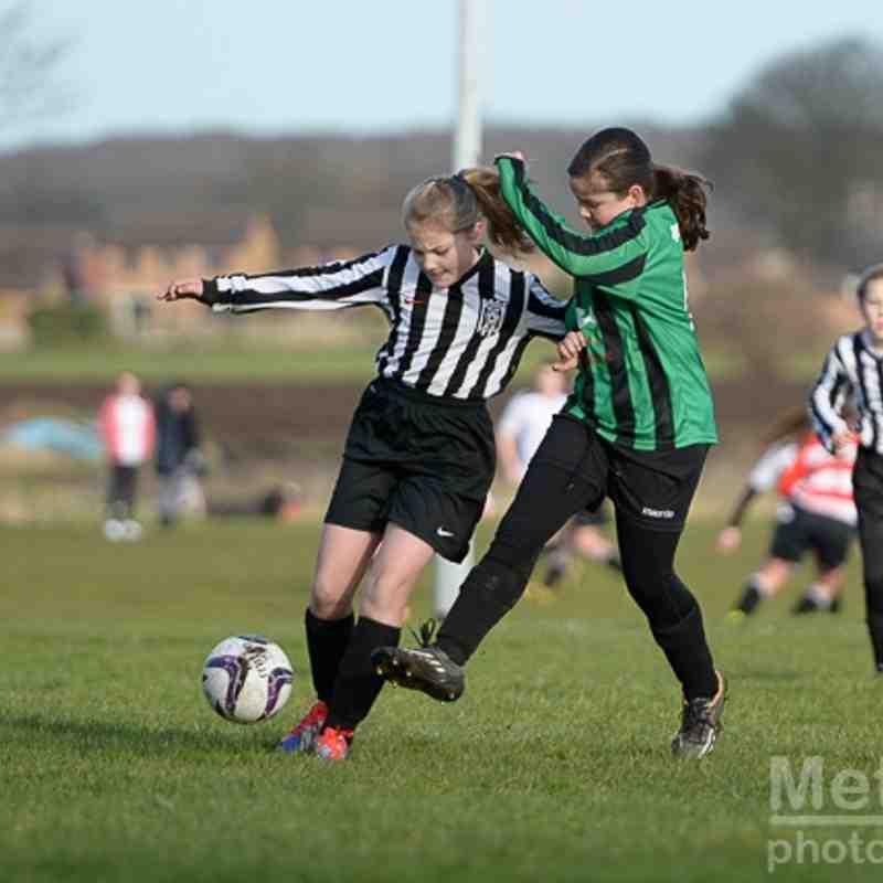 Under 12 Girls V Queensbury