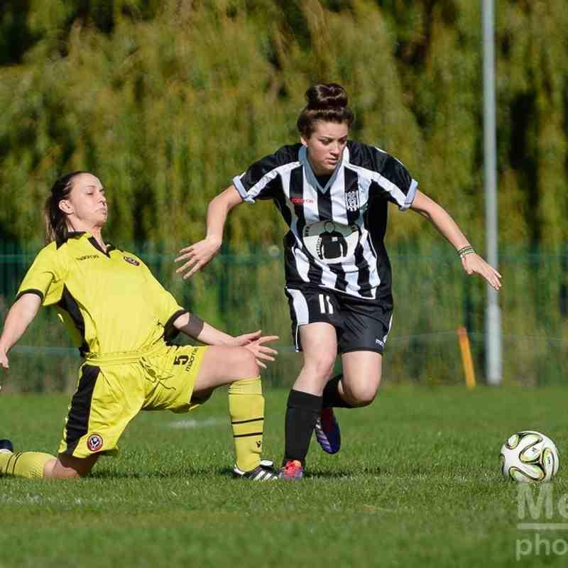 North East Team V Sheffield United Community Ladies
