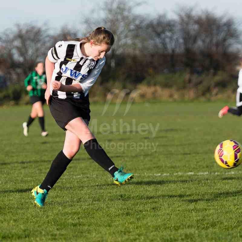 Cas WR Under 15s V Queensbury Celtic