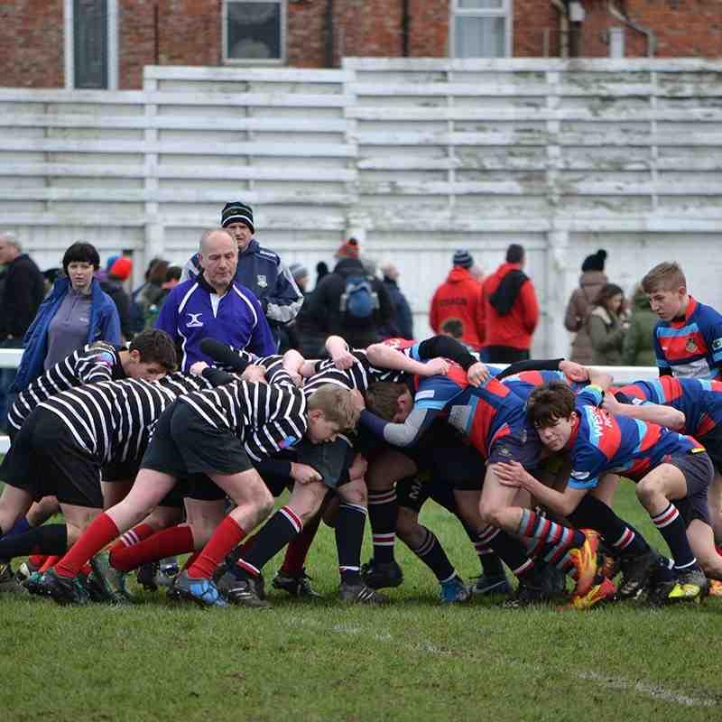 U14s at home to Darlington by Mark Stephenson