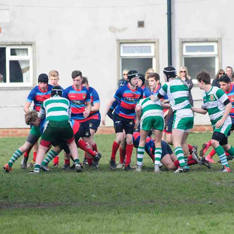 Bulldogs vs Billingham, County Cup 13/03/16