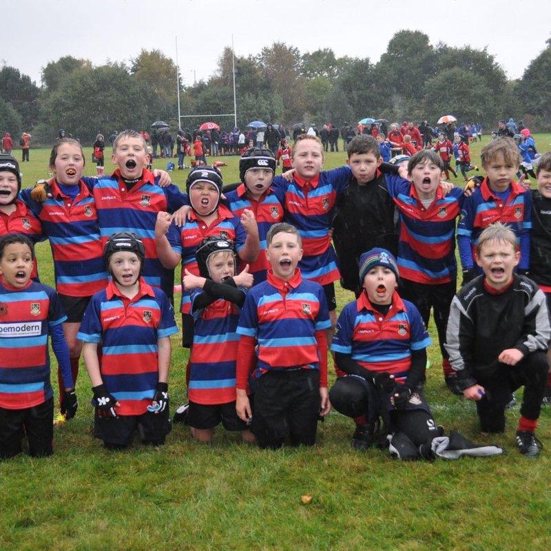 Westoe u9s Tigers v West Hartlepool by Rob McDonnell